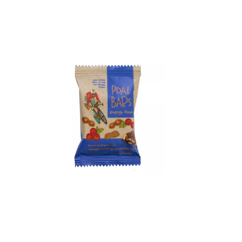 PDAL BARS ENERGY FOOD AMEMDOIM E CRANBERRY 37G