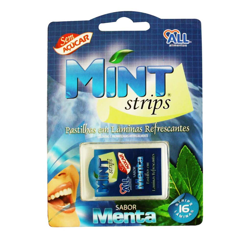 ALL MINT STRIPS MENTA 0,58G