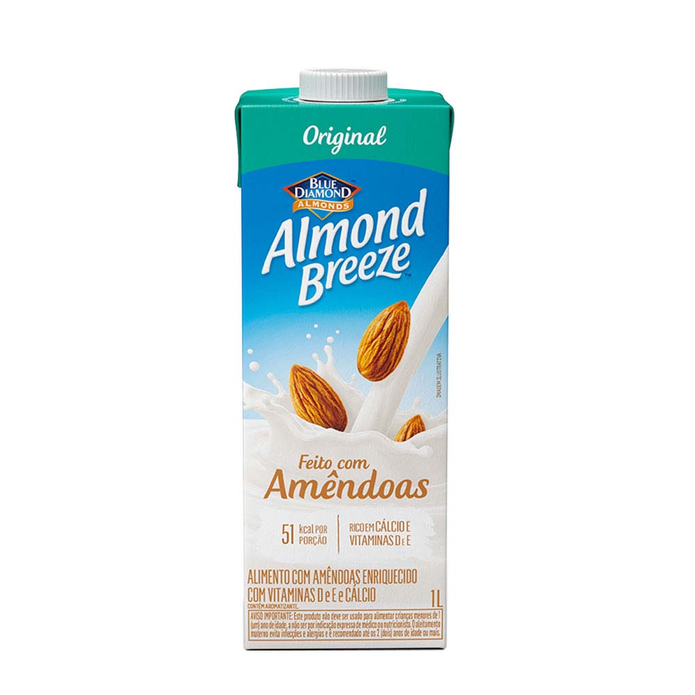 ALMOND NUTYS AMENDOAS 1L