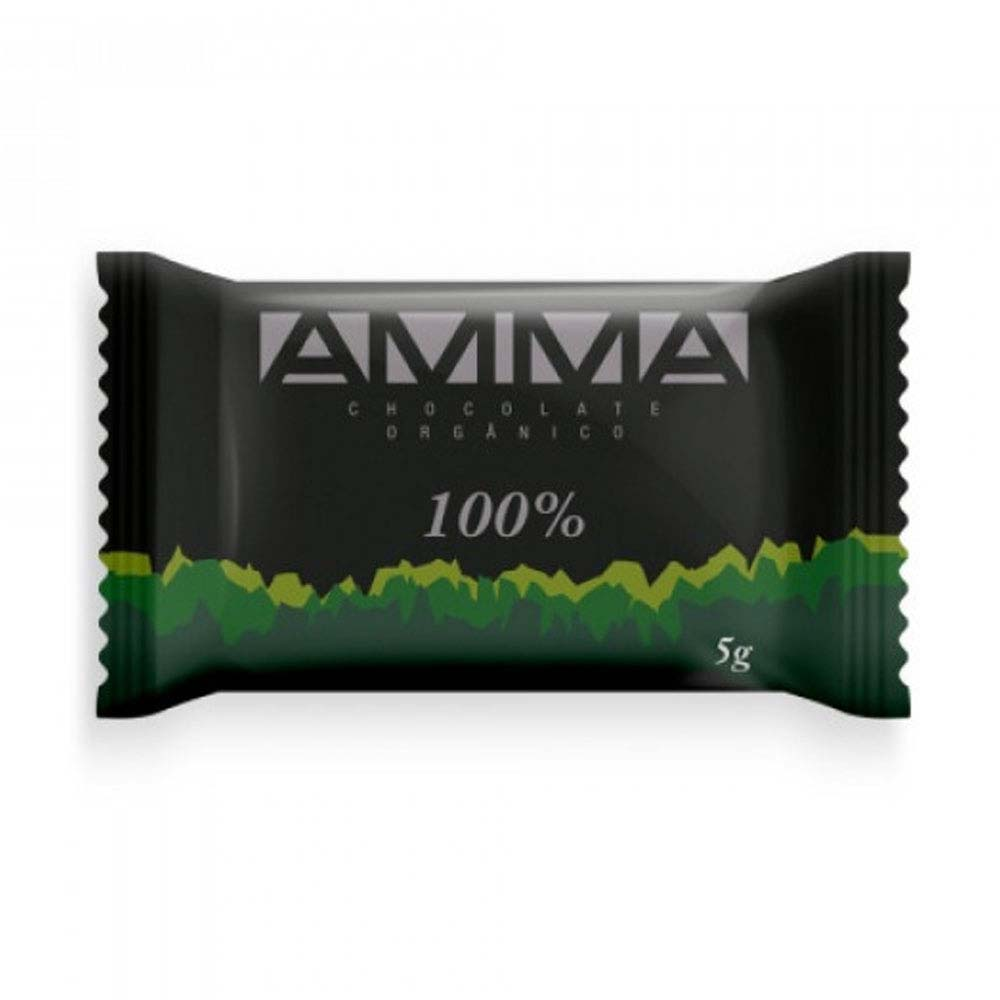 AMMA CHOCOLATE 100% CACAU 5G