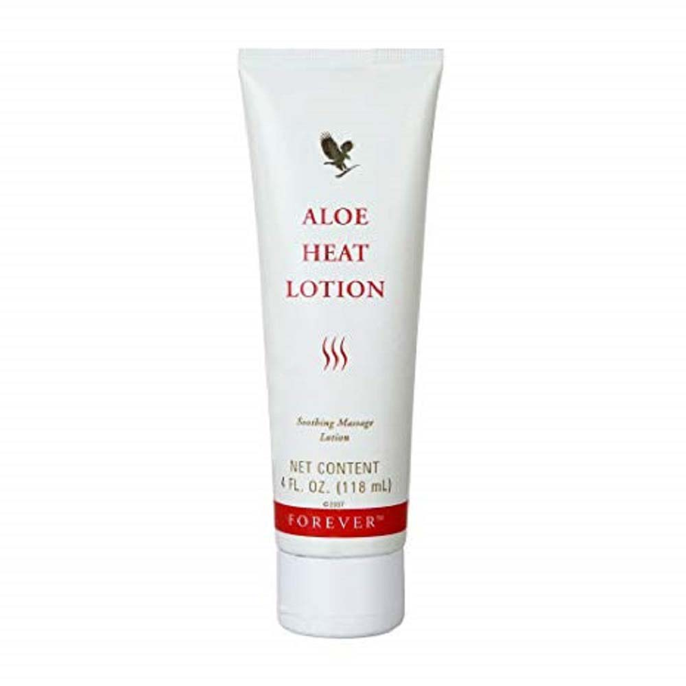 FOREVER ALOE HEAT LOTION 118ML