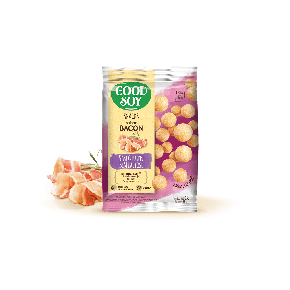 GOODSOY SNACK DE SOJA BACON 25G