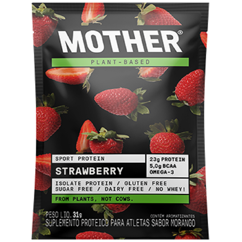 MOTHER PLANT BASED WHEY STRAWBERRY 31G