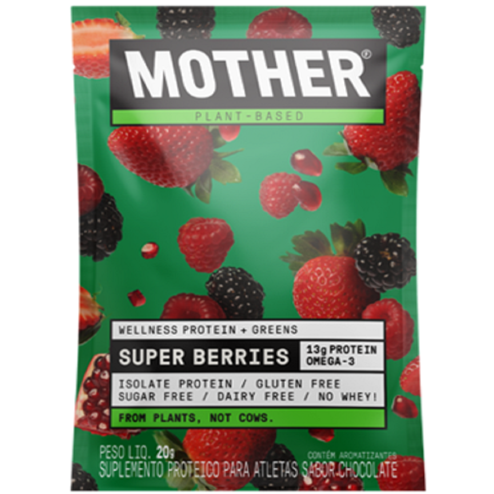 MOTHER PLANT BASED WHEY SUPER BERRIES 31G