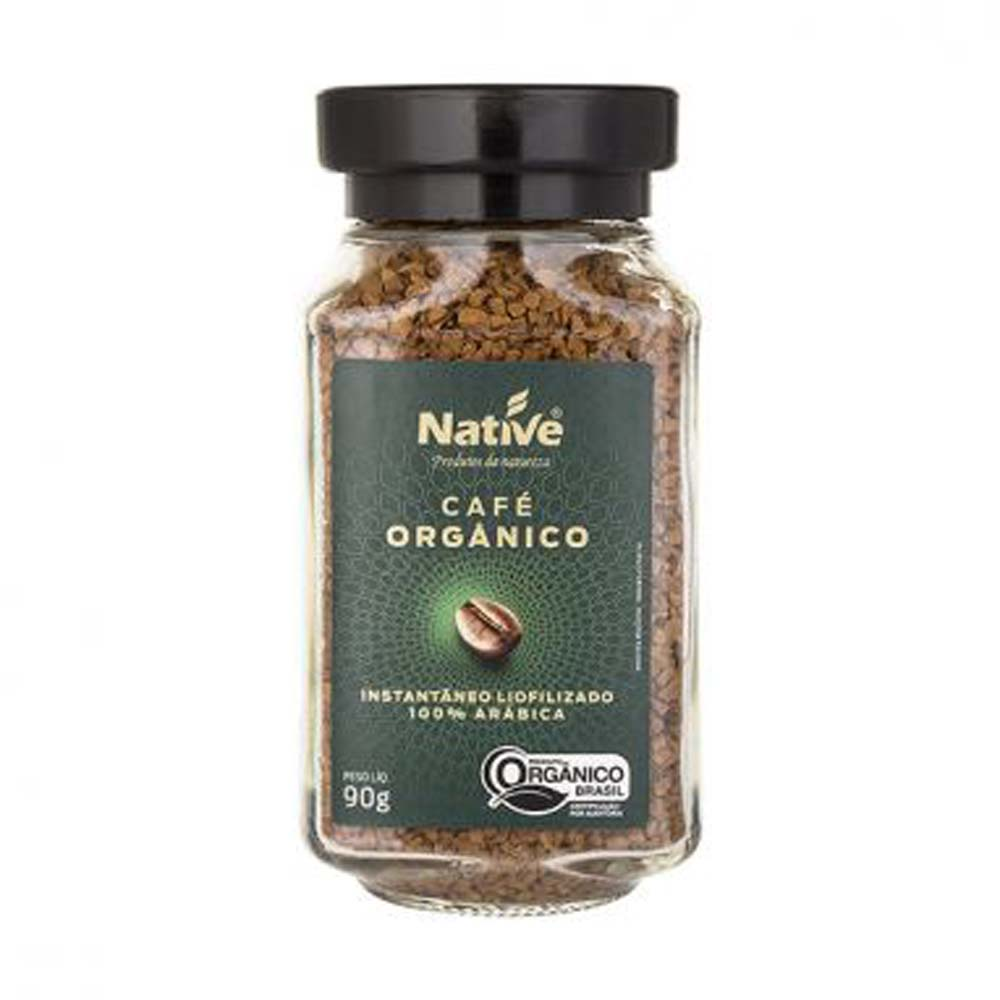 NATIVE CAFE ORGANICO INSTANTANEO 90G