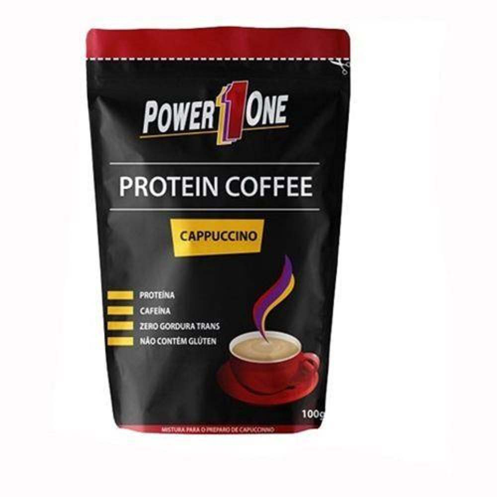 POWER ONE PROTEIN COFFEE CAPPUCCINO 100G