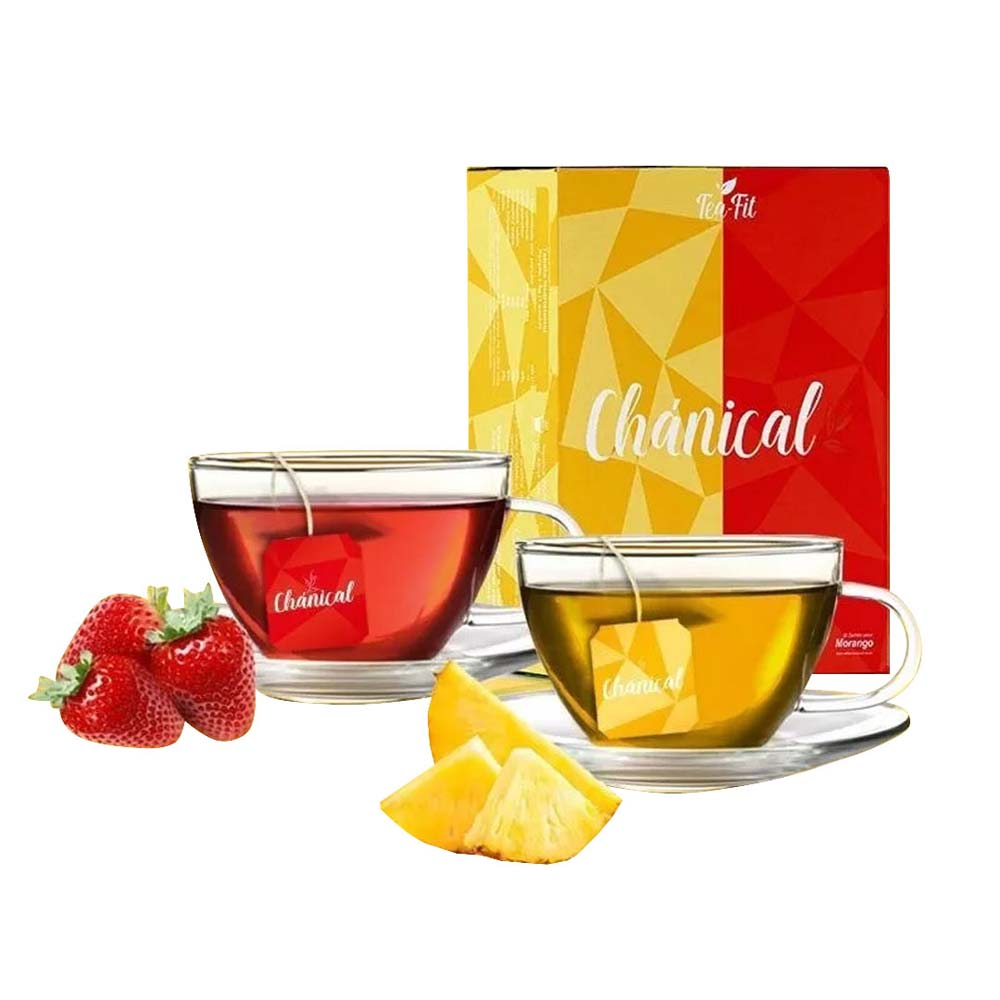 TEA FIT CHÁNICAL ABACAXI / MORANGO 90G