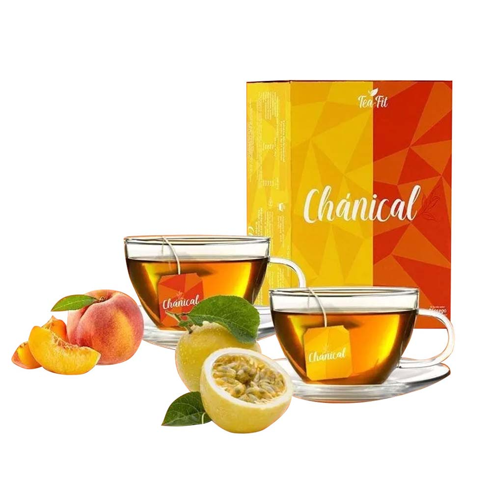 TEA FIT CHÁNICAL MARACUJA / PESSEGO 90G