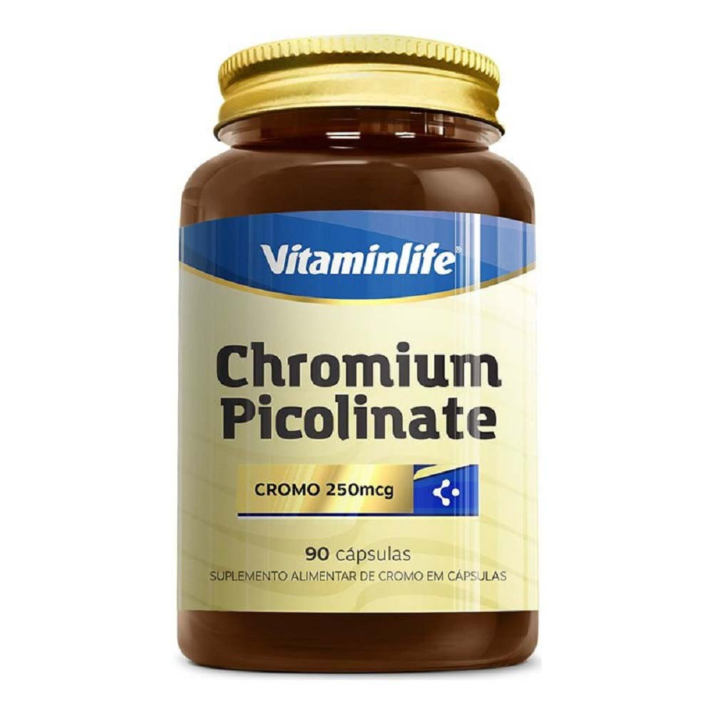 VITAMINLIFE CHROMIUM PICOLINATO 90 CAPS